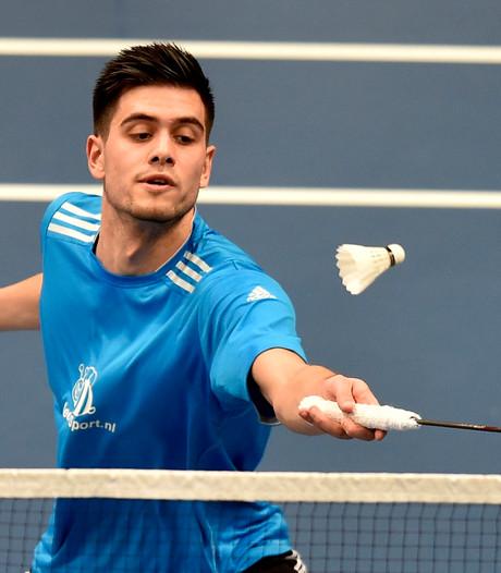 Nick Fransman uitgeschakeld bij EK badminton