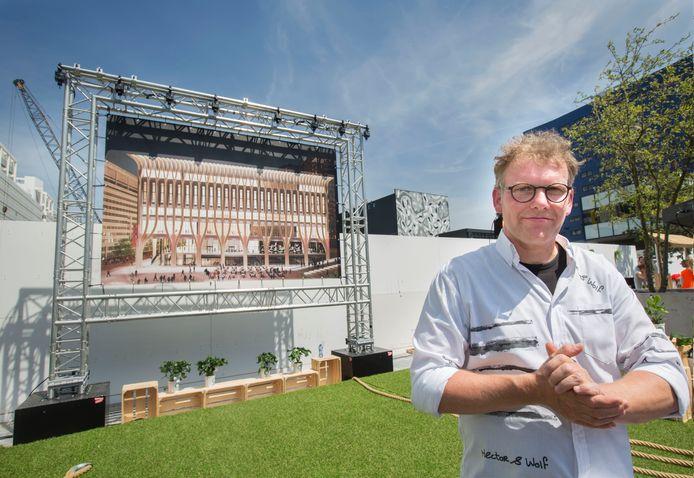 Wethouder Joris Wijsmuller (HSP).