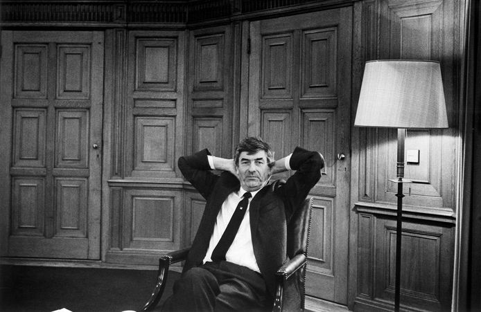 Minister-president Ruud Lubbers in 1988.