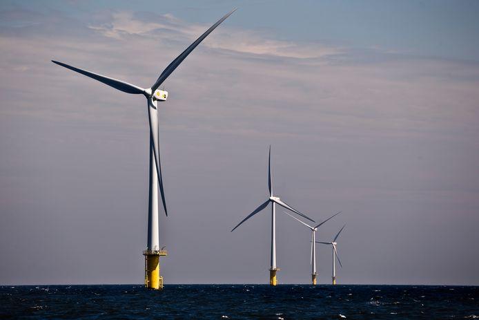 GroenLinks wil in 2040 60 gigawatt aan windenergie op zee opwekken.