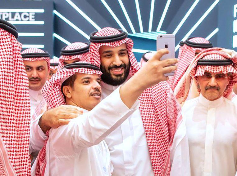 Kroonprins Mohammed bin Salman van Saoedi-Arabië. Beeld AFP
