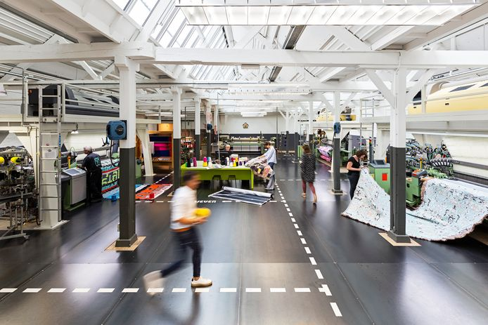 Het TextielMuseum/TextielLab is opgenomen in de provinciale A-categorie. Foto Josefina Eikenaar