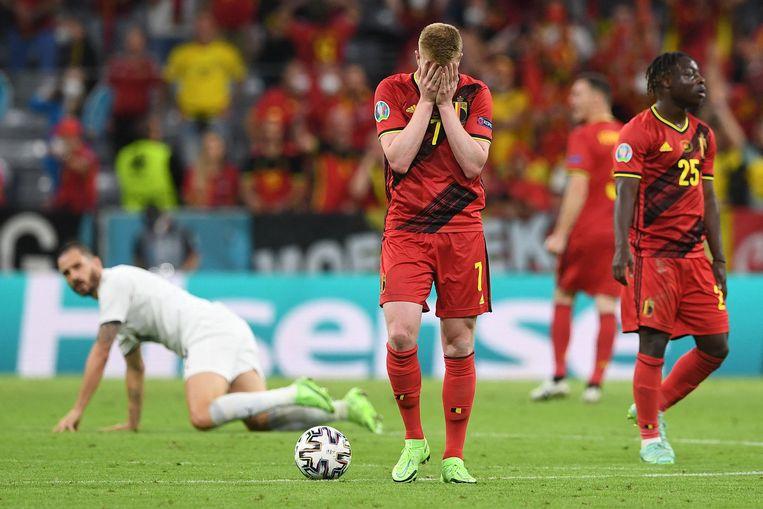 'Individueel heeft België goede spelers, maar ik ben niet onder de indruk van hun prestaties als team dit EK.' Beeld AFP