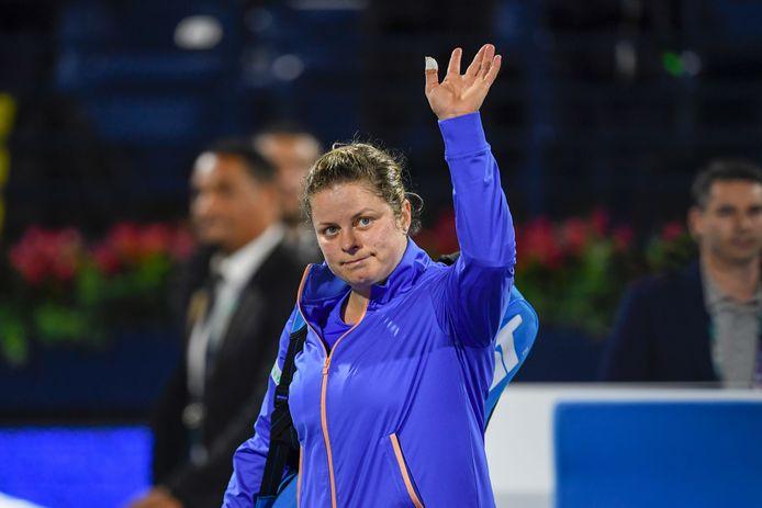 Une prestation encourageante pour Kim Clijsters.