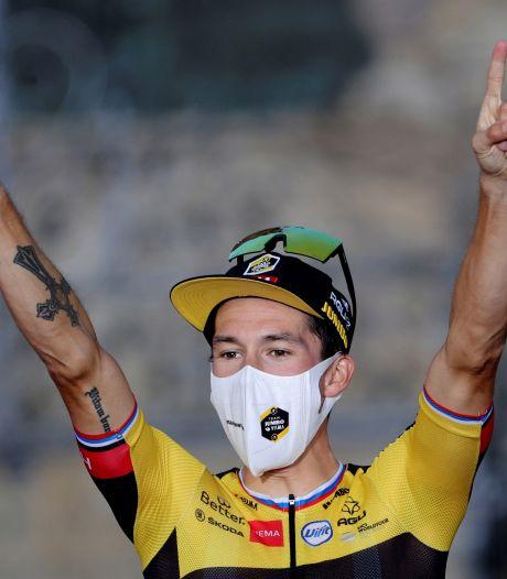 Primoz Roglic blijft grote namen voor in Ronde van Emilia en gaat gewoon door met winnen