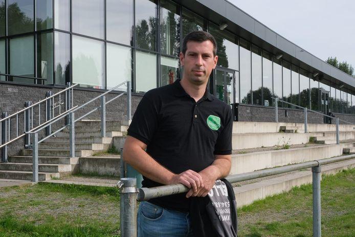 Kenny Bogaerts, trainer van FC Beigem B, betreurt dat de wedstrijd van afgelopen weekend stilgelegd werd.