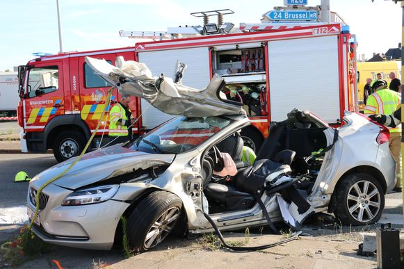 De Volvo is total loss.