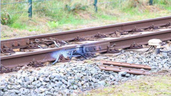 Voorlopig geen treinen tussen Barneveld en Barneveld Noord door schade aan rails