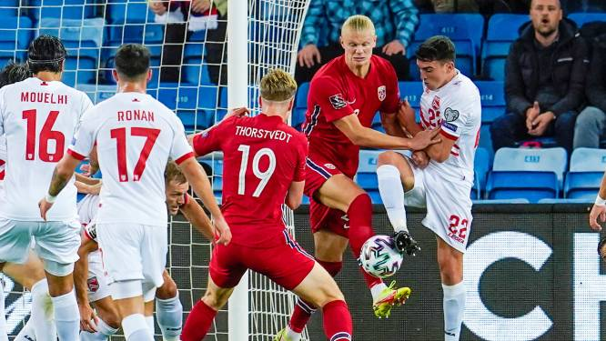 WK KWALIFICATIES. Haaland en Thorstvedt klaren de klus voor Noorwegen tegen Gibraltar - Frankrijk weet weer wat winnen is