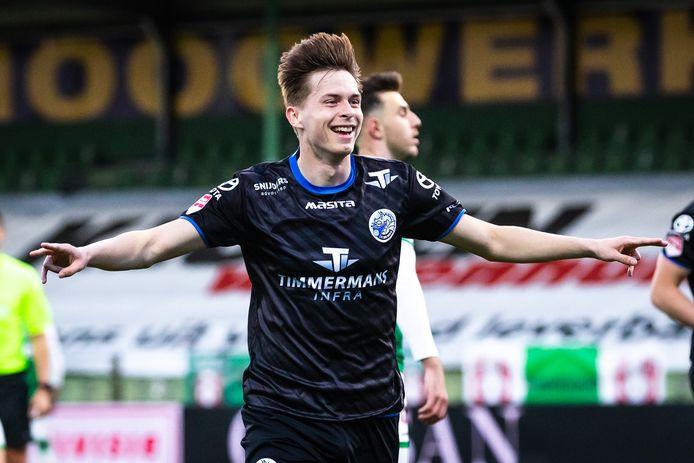Ringo Meerveld speelt komend seizoen bij FC Den Bosch met rugnummer 10.