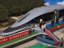 Met 620 km/u in de trein: China werkt eraan