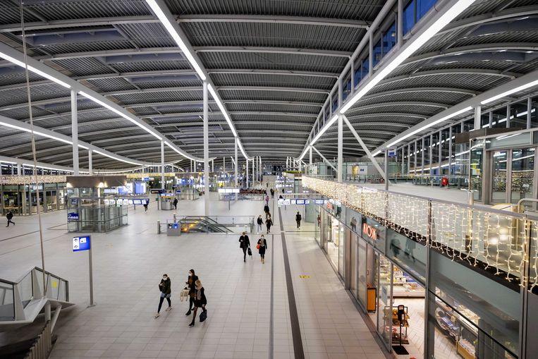 Reizigers op Utrecht Centraal Station. Beeld ANP