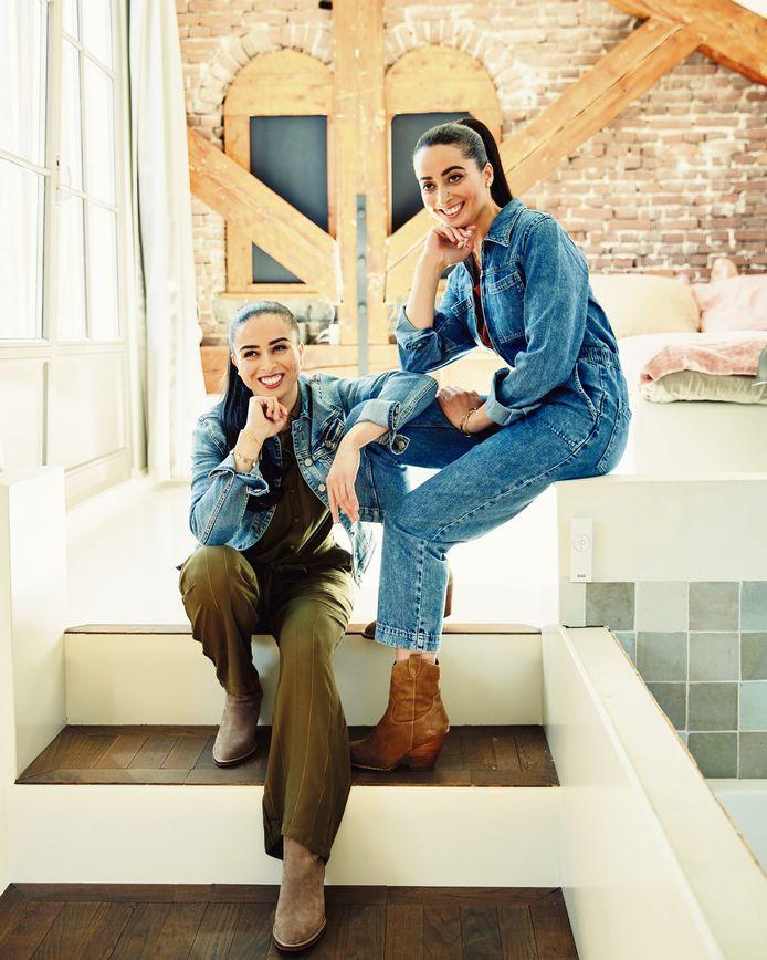 Kookmutsjes Najat en Nadia Yachou.