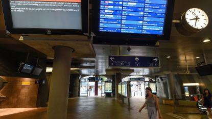 Tweede test voor minimale dienstverlening op het spoor tijdens staking van morgen en woensdag