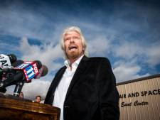 Miljardair Richard Branson volgt astronautentraining