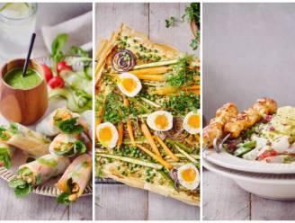 Perfect voor een picknick of het eerste etentje op een terras: drie frisse gerechten die je de lente doen proeven