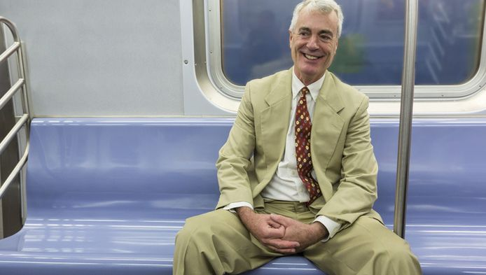 Mannen mogen niet langer meer wijdbeens in de metro van New York zitten.