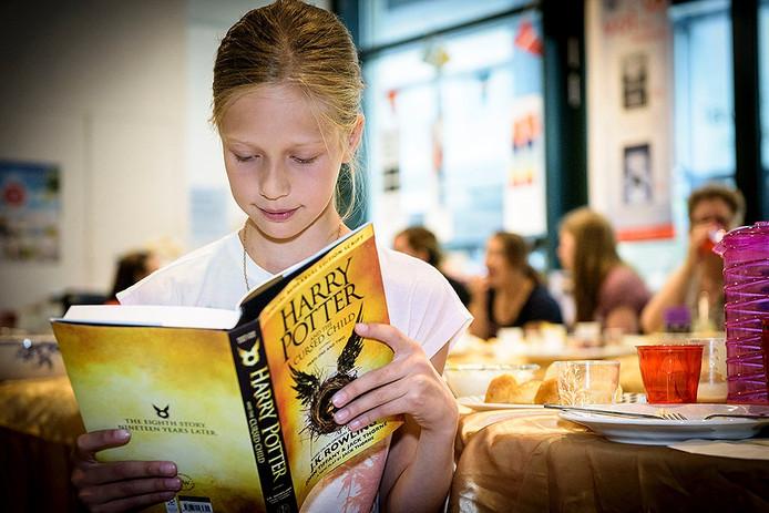 Hogwarts-ontbijt bij Van Piere