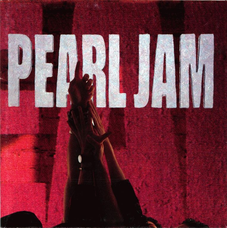 'Ten' van Pearl Jam. Beeld Arne Depuydt