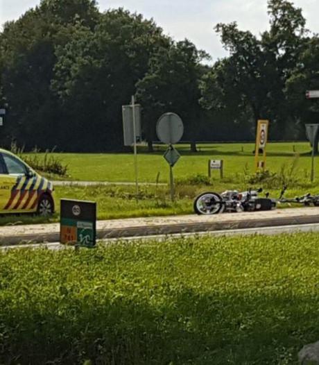 Ernstig ongeluk op N741 bij Delden