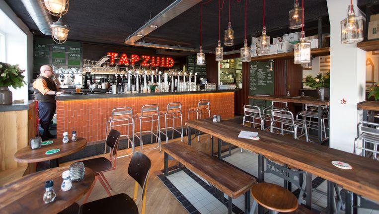 In Amsterdam is Tap Zuid één van de deelnemende horecazaken. Beeld Eva Plevier