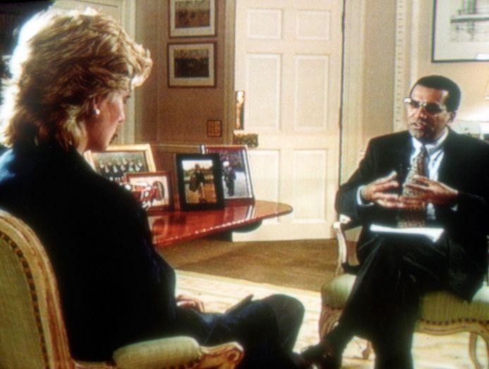 La princesse Diana face à Martin Bashir, en 1995
