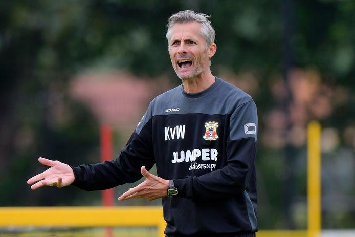 Kees van Wonderen, trainer van Go Ahead Eagles.
