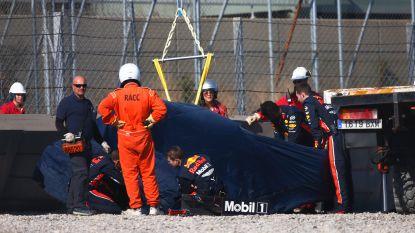F1-testdagen Barcelona: testsessie hervat na stevige crash van Gasly