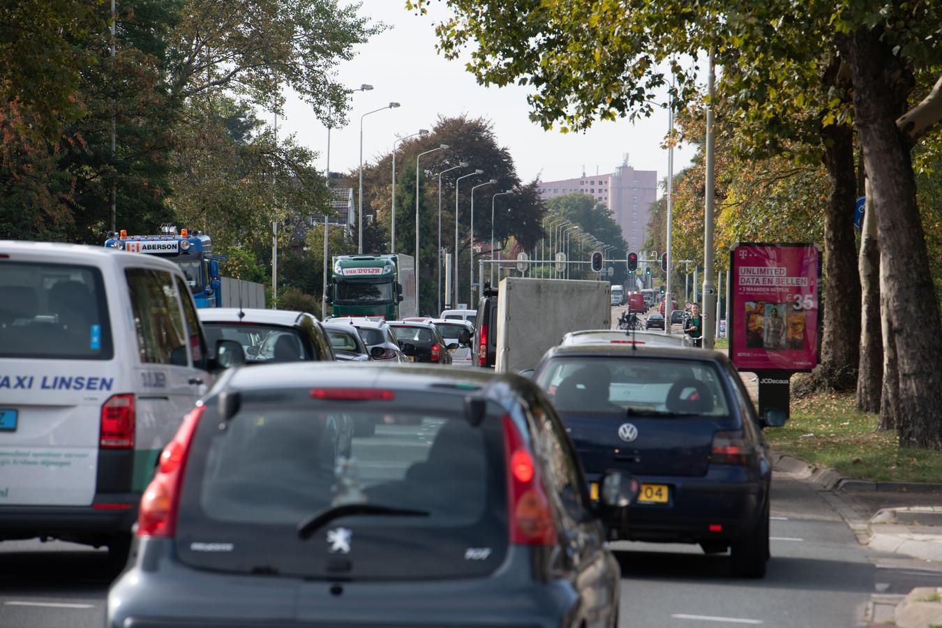 PR dgfoto Gelderlander Nijmegen: Graafseweg stad uitwaards