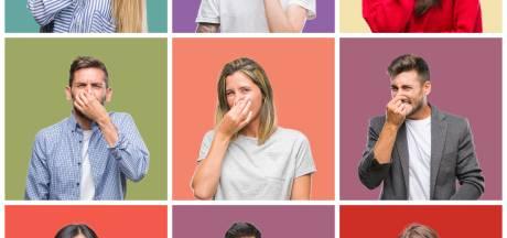 Stinkende varkens, de indringende geur van mest? Deel het op de stank-app