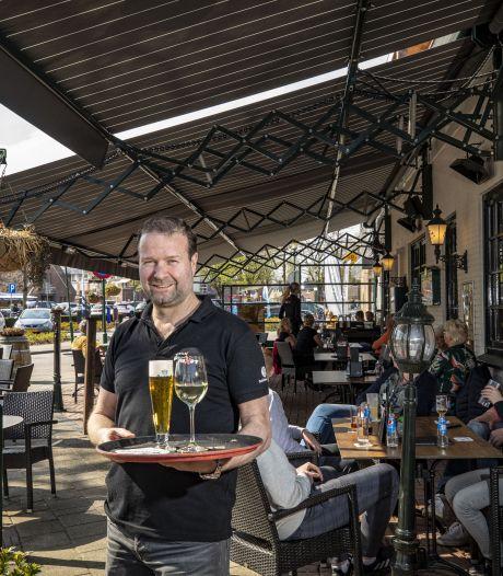 Een virtuele stoel op het terras? Het kan bij eetcafé Plexat in De Lutte