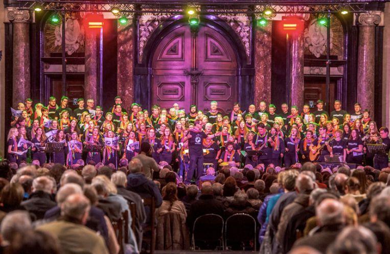 Concert Abadabukileyo in Gent