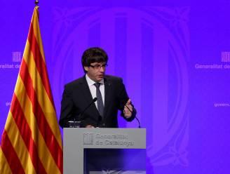 """""""Catalonië zal maandag onafhankelijkheid uitroepen"""""""