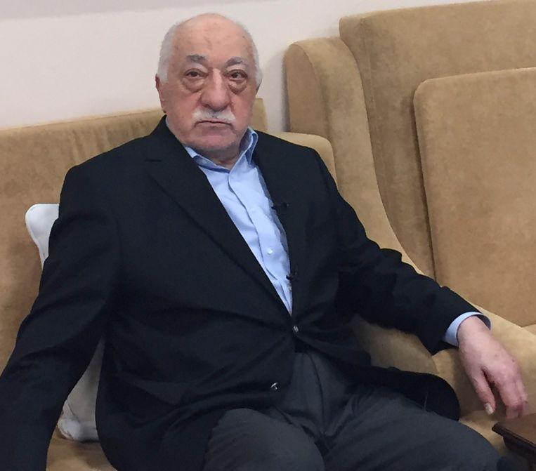 De Turkse geestelijke Fethullah Gülen. Beeld AFP