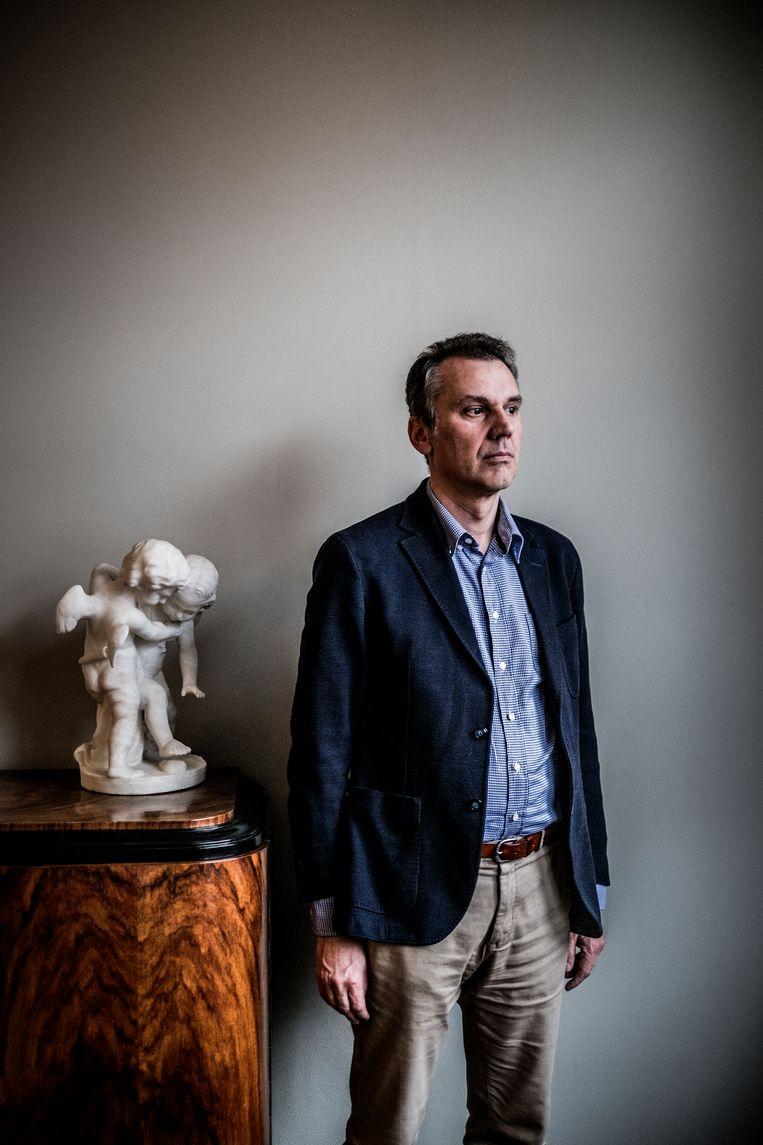 Koen Torrekens: 'Van overheidswege word je op van alles  gesensibiliseerd, behalve op zwemmen in openbare wateren.' Beeld Diego Franssens