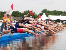 Ook dit jaar weer streep door Triathlon Holten