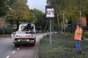 De speciale snelheidsmeter is maandag geïnstalleerd in de wijk Padbroek in Cuijk.