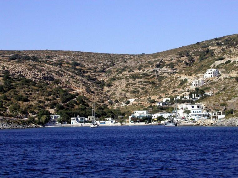 27 vluchtelingen slaagden erin het eilandje Agathonisi te bereiken. Beeld wikimedia