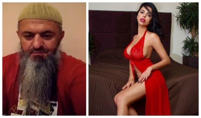 Haatzaaier Chamil Malikov en de Russische porno-actrice die door hem moest onderduiken.