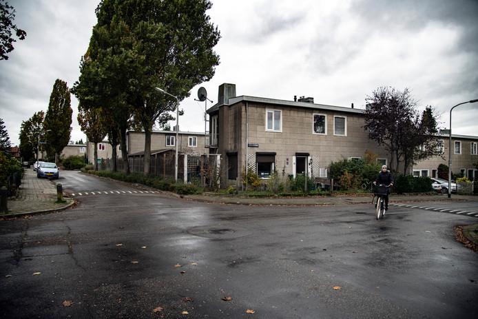 Beeld van de Jerusalembuurt in de Nijmeegse wijk Heseveld. Er is verdeeldheid over de sloop- en nieuwbouwplannen van woningcorporatie Talis.