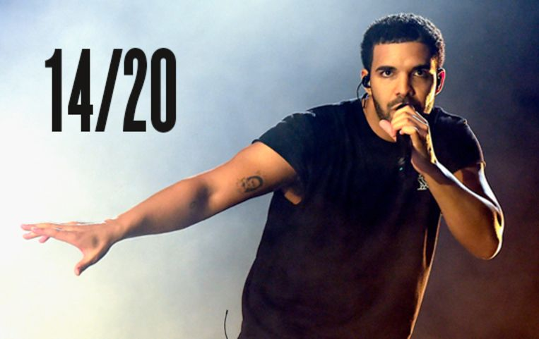 Knokpartij Lyrics Drake Beeld AFP