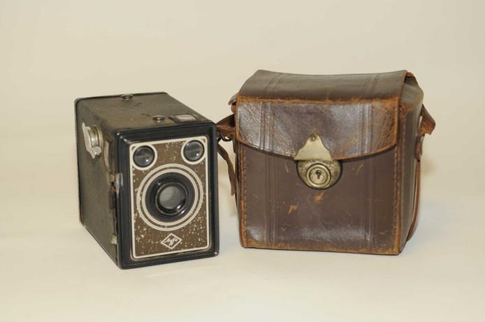 De camera van Jos de Ligny, de nieuwe aanwinst van het Bevrijdingsmuseum.