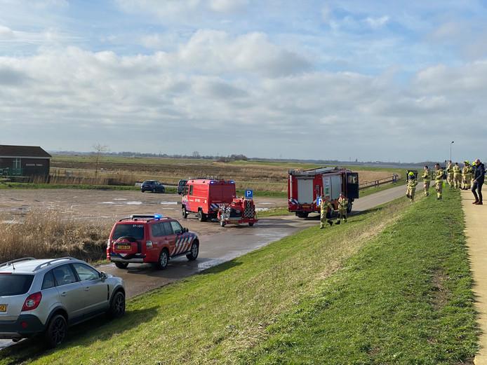 De brandweer trof geen brand aan rondom het Nijkerkernauw.