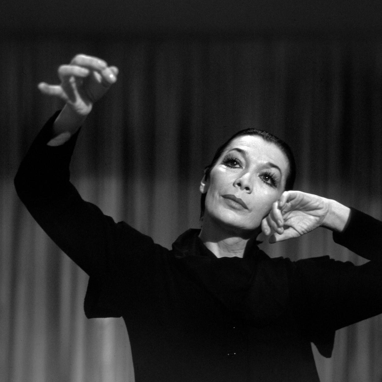 Juliette Gréco in de jaren negentig. Beeld Impress Own/United Archives/Getty Images