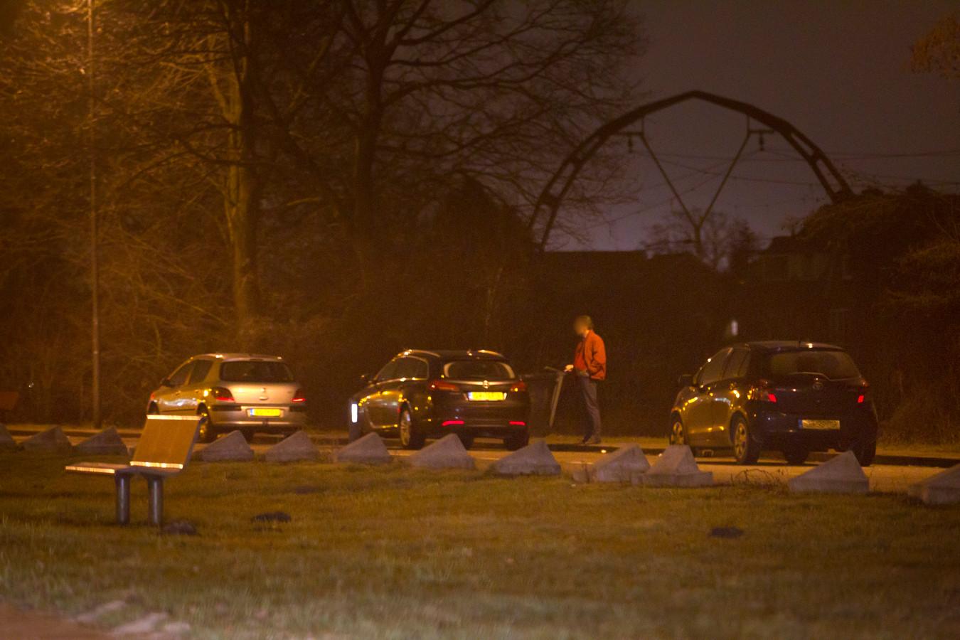 Homo-ontmoetingsplaats op parkeerplaats Nijpoort.