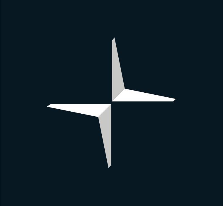 Het Polestar-logo. Beeld rv