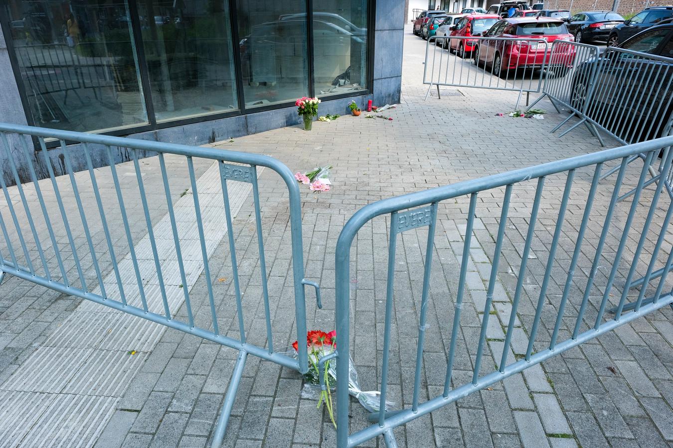 vrouw vermoord op straat in Evere