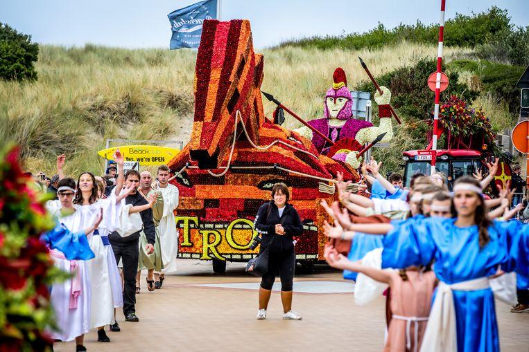 De Bloemencorso brengt tijdens topjaren 100.000 bezoekers naar de badstad.