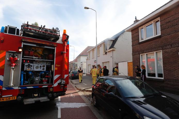 Brand in appartement aan Hastelweg in Eindhoven.
