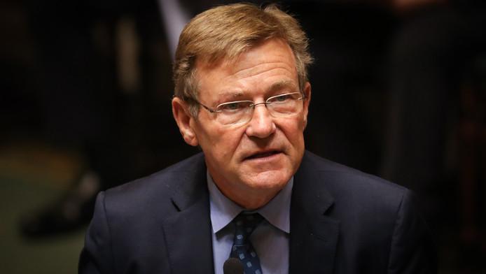 Le ministre des finances Johan Van Overtveld.